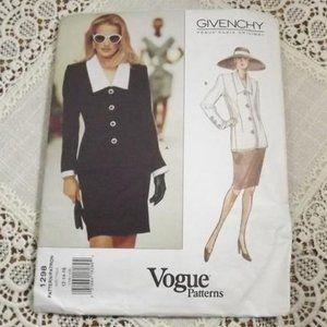 Vogue UNCUT Sewing Pattern 1298 SZ 12-14-16